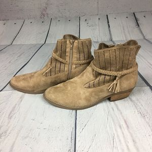 Shoes - Suede Booties Size 10